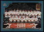 2001 Topps #764   Houston Astros Team Front Thumbnail