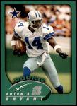 2002 Topps #341  Antonio Bryant  Front Thumbnail