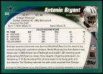 2002 Topps #341  Antonio Bryant  Back Thumbnail