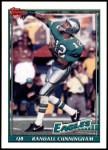 1991 Topps #210  Randall Cunningham  Front Thumbnail