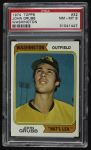 1974 Topps #32 WAS Johnny Grubb  Front Thumbnail