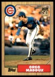 2001 Topps Traded #123 T  -  Greg Maddux 87  Front Thumbnail