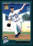2001 Topps Traded #166 T Chris George  Front Thumbnail
