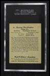 1939 Play Ball #138  George Case  Back Thumbnail