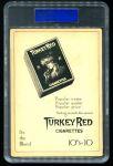 1911 T3 Turkey Red #83  Al Bridwell   Back Thumbnail