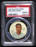 1962 Salada Coins #162  Sam Jones  Front Thumbnail