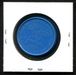 1962 Salada Coins #24 WHI Earl Averill Jr.  Back Thumbnail