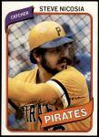 1980 Topps #519  Steve Nicosia   Front Thumbnail