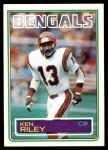 1983 Topps #241  Ken Riley  Front Thumbnail