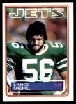1983 Topps #349  Lance Mehl  Front Thumbnail