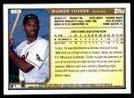 1999 Topps Traded #39 T Mamon Tucker  Back Thumbnail