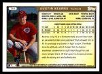 1999 Topps Traded #51 T Austin Kearns  Back Thumbnail