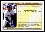 1999 Topps Traded #84 T Albert Belle  Back Thumbnail