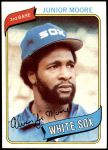 1980 Topps #186  Junior Moore  Front Thumbnail