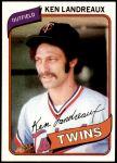 1980 Topps #88  Ken Landreaux  Front Thumbnail