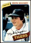 1980 Topps #29  Mark Wagner  Front Thumbnail