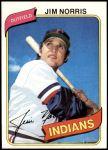 1980 Topps #333  Jim Norris    Front Thumbnail