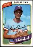 1980 Topps #548  Dave Rajsich  Front Thumbnail