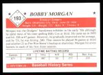 1979 TCMA The 1950's #193  Bobby Morgan  Back Thumbnail