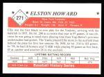 1979 TCMA The 1950's #271  Elston Howard  Back Thumbnail