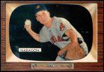 1955 Bowman #129  Hal Naragon  Front Thumbnail