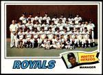 1977 Topps #371   -  Whitey Herzog Royals Team Checklist Front Thumbnail