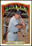 1972 Topps #171  Darrell Evans  Front Thumbnail