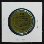 1964 Topps Coins #134   -  Carl Yastrzemski All-Star Back Thumbnail