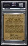 1940 Play Ball #205  Rollie Hemsley  Back Thumbnail