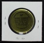 1964 Topps Coins #67  Dean Chance   Back Thumbnail