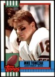 1990 Topps Traded #13 T Mike Tomczak  Front Thumbnail