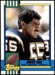 1990 Topps Traded #28 T Junior Seau  Front Thumbnail