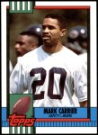 1990 Topps Traded #29 T Mark Carrier  Front Thumbnail