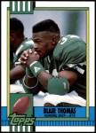 1990 Topps Traded #34 T Blair Thomas  Front Thumbnail