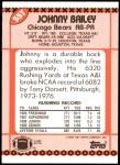 1990 Topps Traded #55 T Johnny Bailey  Back Thumbnail