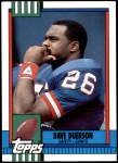 1990 Topps Traded #61 T Dave Duerson  Front Thumbnail