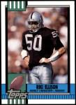 1990 Topps Traded #98 T Riki Ellison  Front Thumbnail