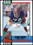 1990 Topps Traded #109 T Glenn Parker  Front Thumbnail