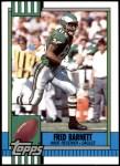 1990 Topps Traded #131 T Fred Barnett  Front Thumbnail