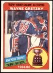 1984 O-Pee-Chee #373   -  Wayne Gretzky Art Ross Trophy Front Thumbnail