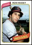 1980 Topps #222  Ron Hassey   Front Thumbnail