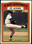 1972 Topps #698   -  Jerry Koosman In Action Front Thumbnail