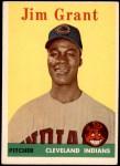 1958 Topps #394  Mudcat Grant  Front Thumbnail