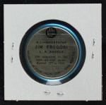 1965 Old London Coins  Jim Fregosi  Back Thumbnail