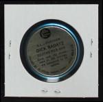1965 Old London Coins  Dick Radatz  Back Thumbnail