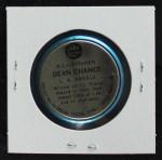 1965 Old London Coins  Dean Chance  Back Thumbnail