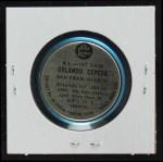 1965 Old London Coins  Orlando Cepeda  Back Thumbnail