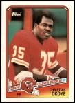 1988 Topps #363  Christian Okoye  Front Thumbnail