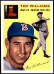 1954 Topps Archives #250 A Ted Williams  Front Thumbnail