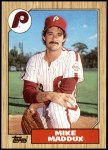 1987 Topps #553  Mike Maddux  Front Thumbnail